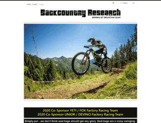 backcountryresearch.3dcartstores.com screenshot