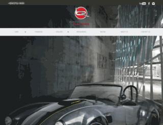 backdraftracing.com screenshot