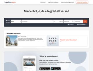 backend.ingatlan.com screenshot