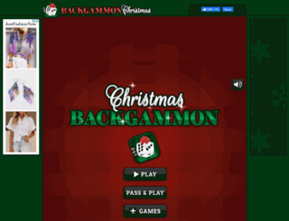 backgammonchristmas.com screenshot
