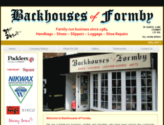 backhousesofformby.co.uk screenshot