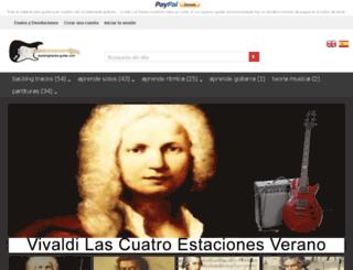 backingtracks-guitar.com screenshot