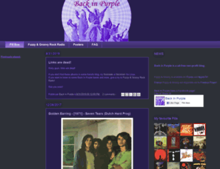 backinpurple70.blogspot.de screenshot