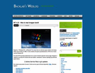 backlab.wordpress.com screenshot