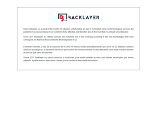backlayer.com screenshot