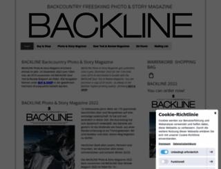 backline-magazin.com screenshot