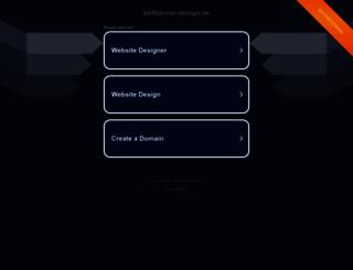 backlink.zeitbanner-design.de screenshot