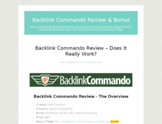 backlinkcommandoreview.org screenshot