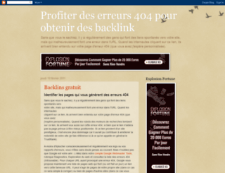 backlinkgratuit.blogspot.com screenshot