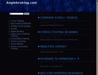 backoffice.anglebroking.com screenshot