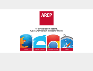 backoffice.arep.fr screenshot