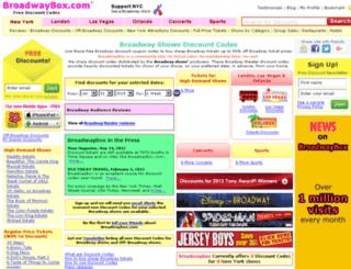 backoffice.broadwaybox.com screenshot