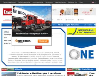 backoffice.camionsupermarket.it screenshot
