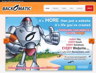 backomatic.com screenshot