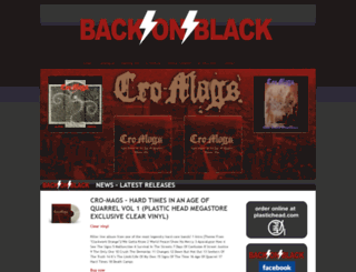 backonblack.com screenshot