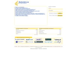 backorders.es screenshot