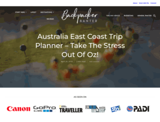 backpackerbanter.com screenshot