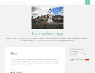 backpackerjogja.wordpress.com screenshot