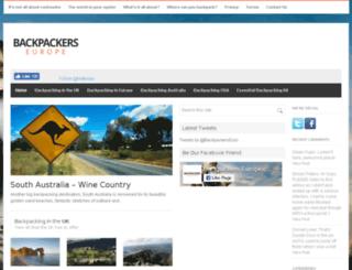backpackers-europe.com screenshot