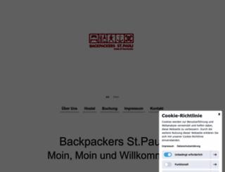 backpackers-stpauli.de screenshot