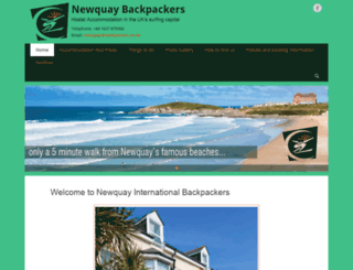 backpackers.co.uk screenshot