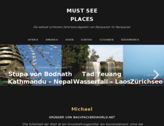 backpackersworld.net screenshot