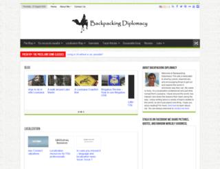 backpackingdiplomacy.com screenshot