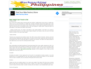 backpackingphilippines.com screenshot