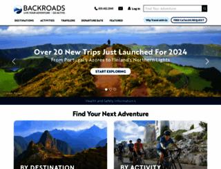 backroads.com screenshot
