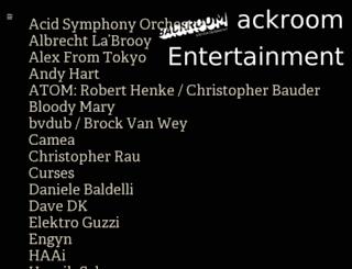backroom-entertainment.com screenshot