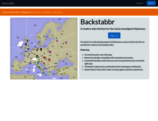backstabbr.com screenshot