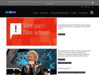 backstage.rtlgroup.com screenshot