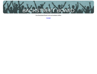 backstreet-board.de screenshot