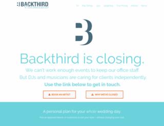 backthird.com screenshot