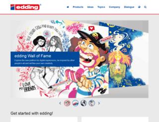 backtoschool.edding.com screenshot
