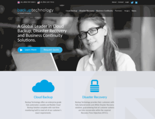 backup-technology.com screenshot