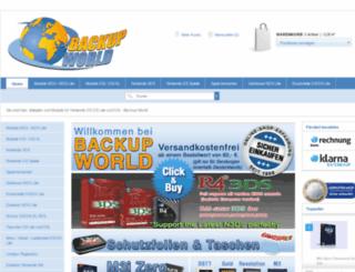 backup-world.de screenshot