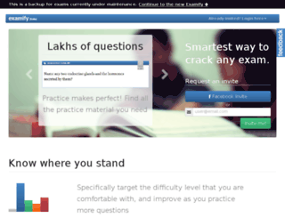 backup.examify.com screenshot
