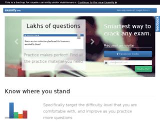 backup.examify.com screenshot