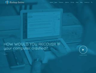 backuponline.com screenshot