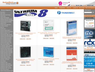 backupworks.com screenshot