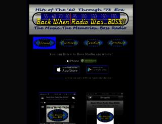 backwhenradiowasboss.com screenshot