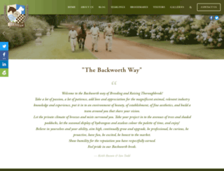 backworthstud.squarespace.com screenshot