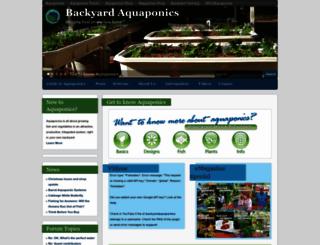 backyardaquaponics.com screenshot