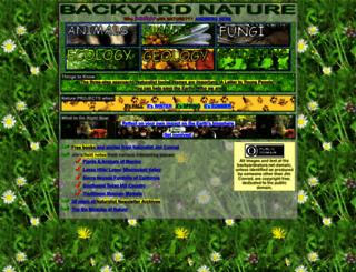 backyardnature.net screenshot