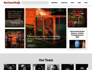 backyardstyle.com screenshot