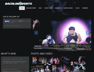 bacolodevents.com screenshot