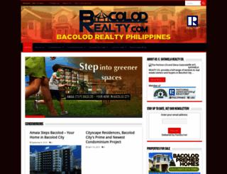 bacolodrealty.com screenshot