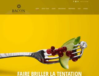 bacon.fr screenshot