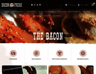 baconfreak.com screenshot